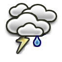icon Scattered Thunderstorms